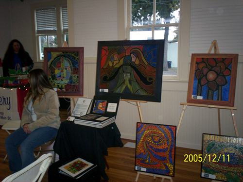 Peace Hall Coffee House Art Scene  2005