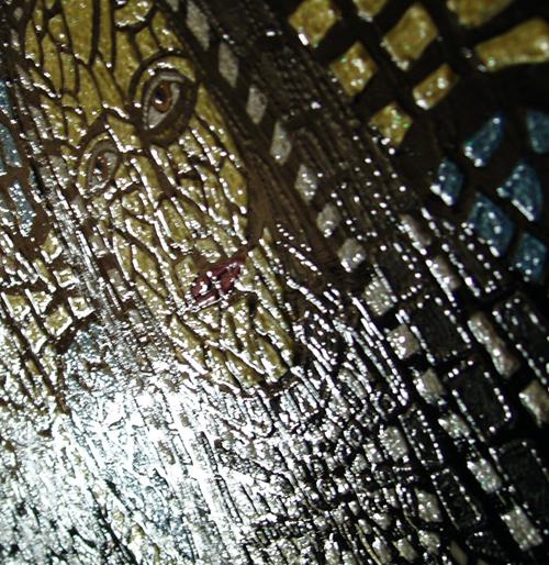 Saint Frances Cabrini Texture
